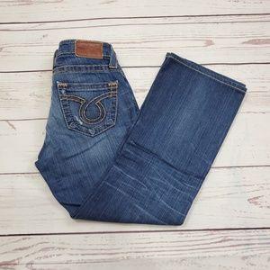 Big Star Liv Bootcut Jeans Size 27 Distressed